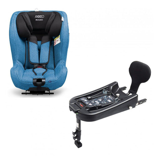 Axkid Modukid i-Size toddler car seat and base - Petrol - Pushchair Expert