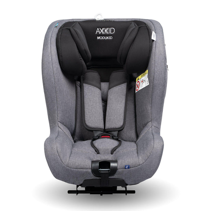 Axkid Modukid i-Size toddler car seat and base - Grey - Pushchair Expert