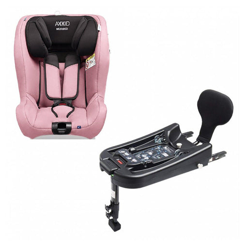 Axkid Modukid i-Size toddler car seat and base - Pink - Pushchair Expert