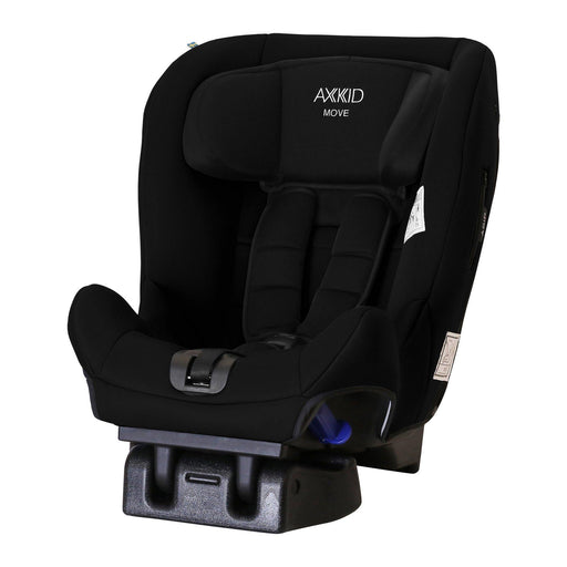 Axkid Move Extended Rear-facing Car Seat - Black - Pushchair Expert