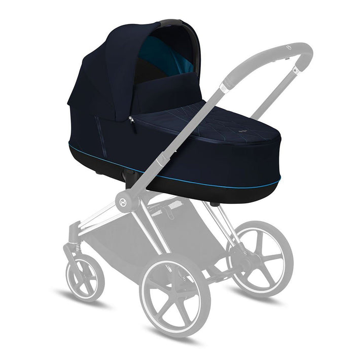 Cybex Priam LUX Carry Cot - Nautical Blue