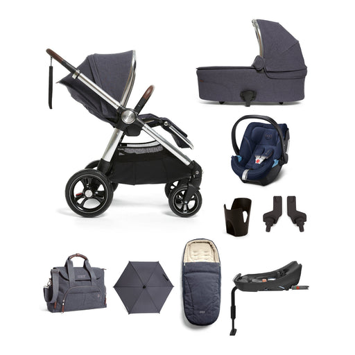 Mamas & Papas Ocarro Travel System - Complete Kit - Navy - Pushchair Expert