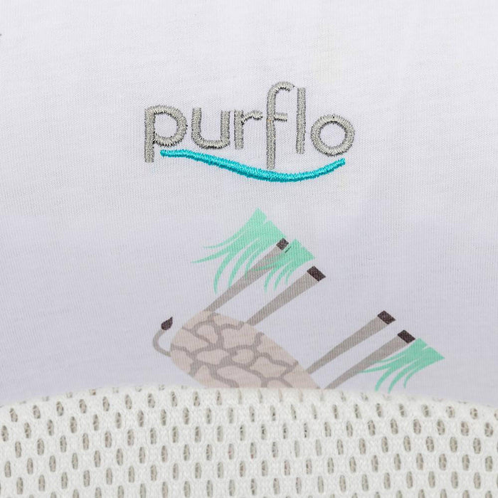 purflo breathable nest giraffe design giraffe close up