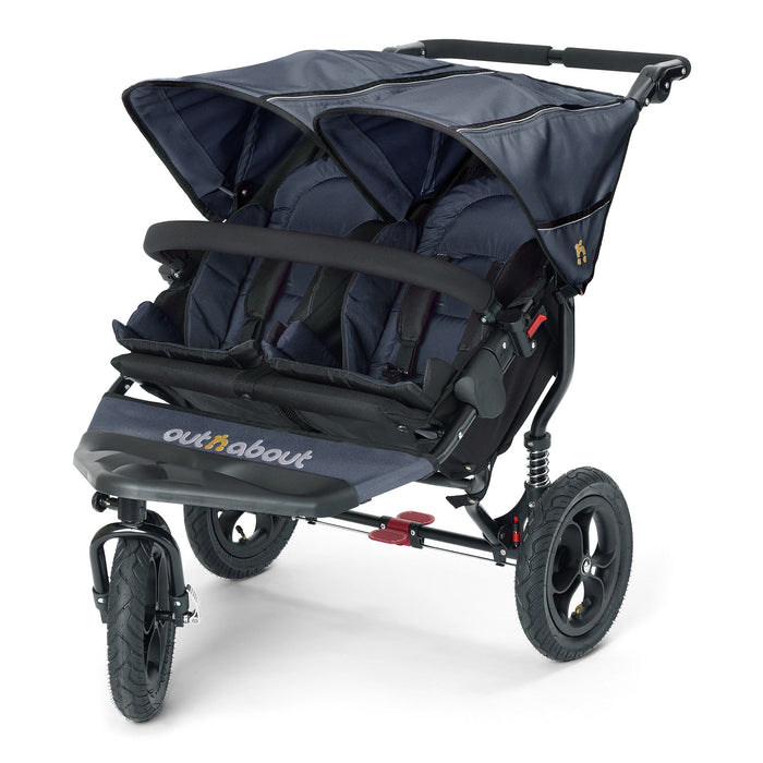 Out'n'About Nipper Double V4 Royal Navy - Pushchair Expert