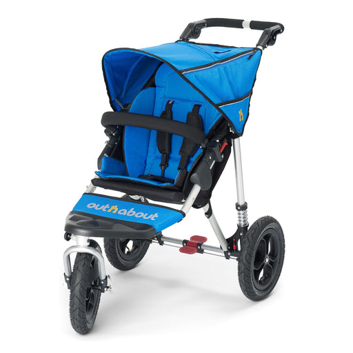 Out'n'About Nipper Single V4 Lagoon Blue - Pushchair Expert