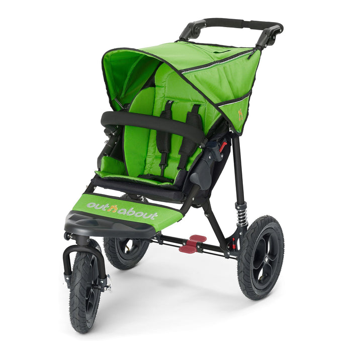 Out'n'About Nipper Single V4 Mojito Green - Pushchair Expert