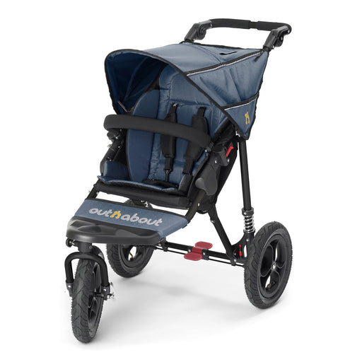 Out'n'About Nipper Single V4 Royal Navy - Pushchair Expert