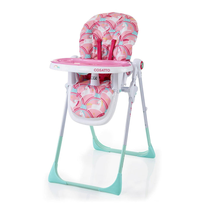 Cosatto Noodle Highchair - Supa Magic Unicorns - Pushchair Expert