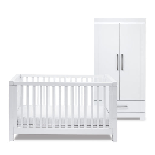 Silver Cross Notting Hill - Cot bed and Wardrobe Set - Pushchair Expert