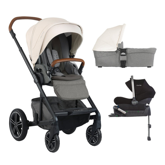 nuna MIXX Travel System - Birch - Pushchair Expert