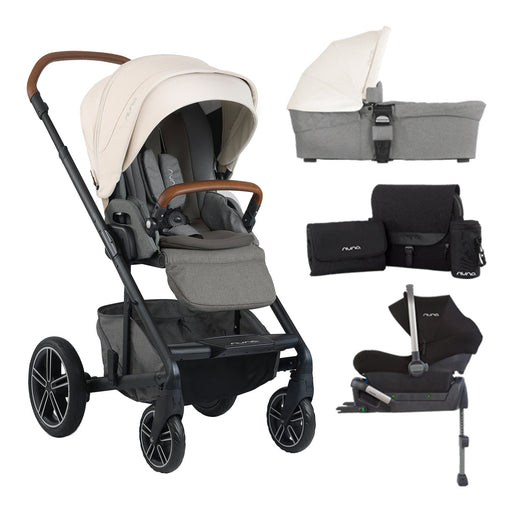 nuna MIXX Travel System Special Bundle - Birch