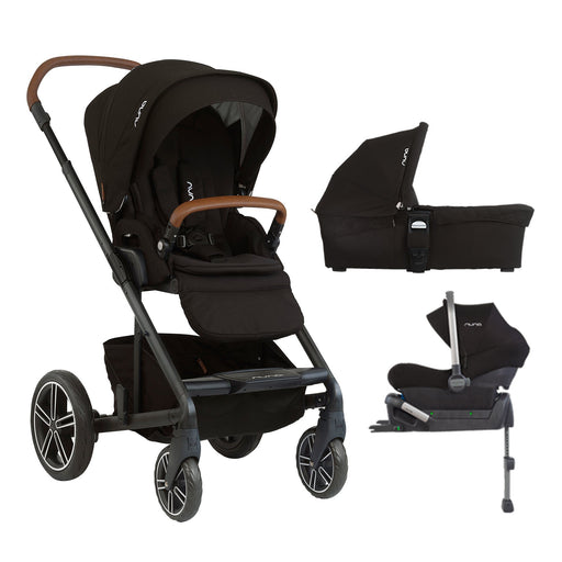 nuna MIXX Travel System - Caviar - Pushchair Expert