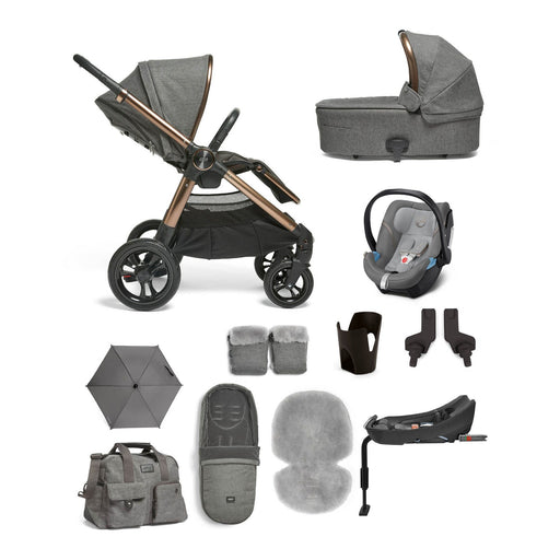 Mamas & Papas Ocarro Travel System - Complete Kit - Simply Luxe (grey)