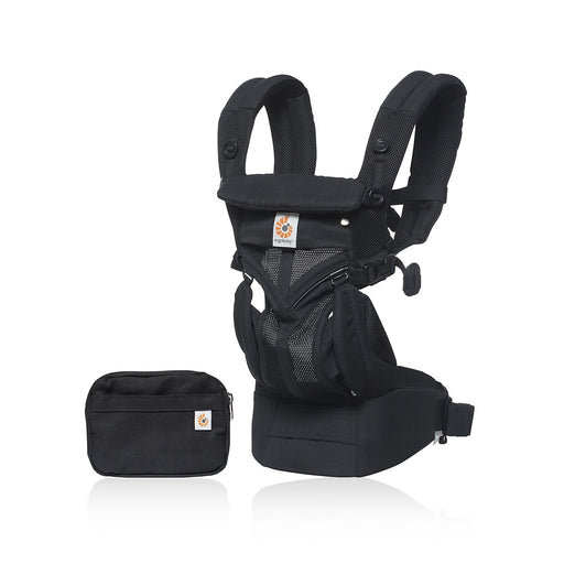 Ergobaby Omni 360 Baby Carrier Cool Air Mesh - Onyx Black - Pushchair Expert