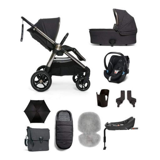 Mamas & Papas Ocarro Travel System - Complete Kit - Onyx - Pushchair Expert