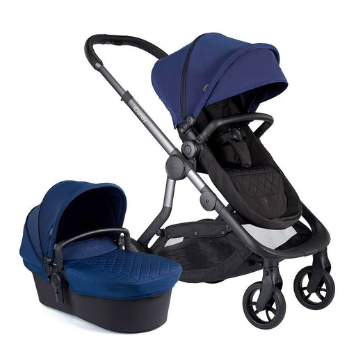 iCandy Orange Pushchair and Carrycot - Indigo - Pushchair Expert