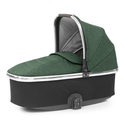 BabyStyle Oyster 3 Alpine Green Carrycot - Pushchair Expert
