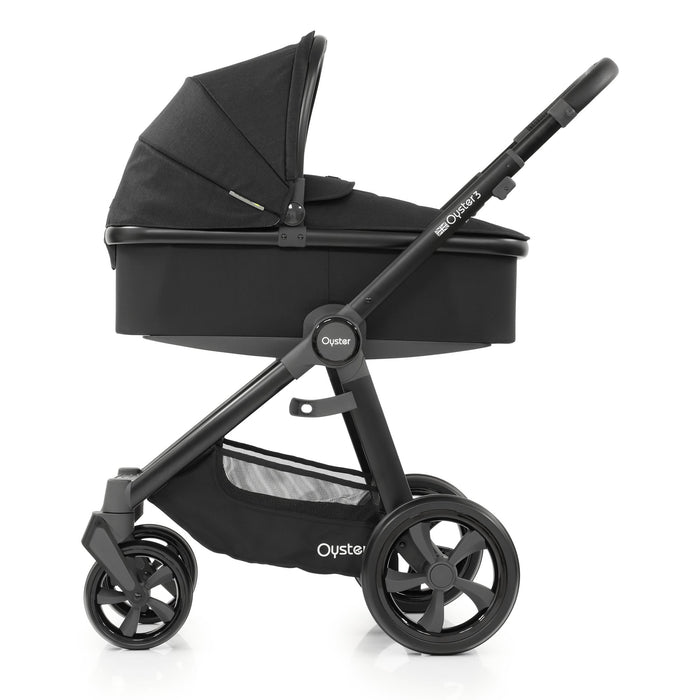 BabyStyle Oyster 3 Noir 5-piece Bundle - Pushchair Expert