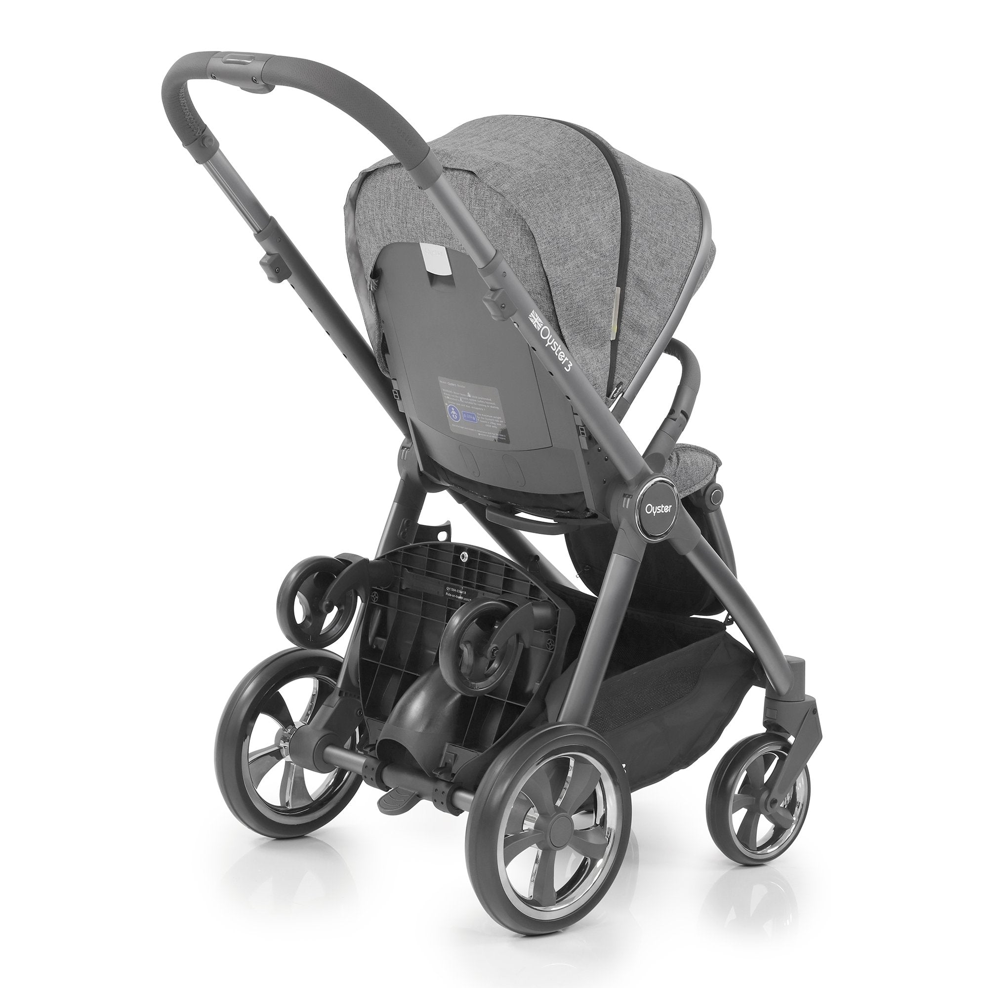 BabyStyle Oyster 3 Ride on board - Pushchair Expert