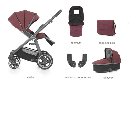 BabyStyle Oyster 3 Berry 5-piece Bundle