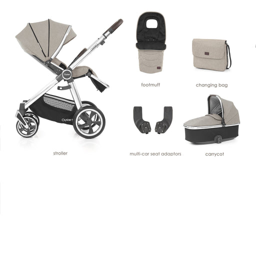 BabyStyle Oyster 3 Pebble 5-piece Bundle - Pushchair Expert