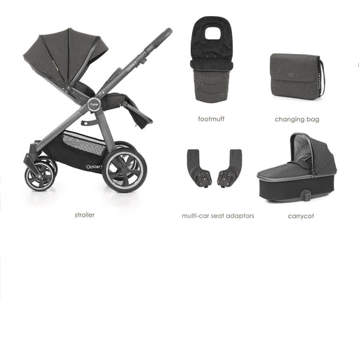BabyStyle Oyster 3 Pepper 5-piece Bundle - Pushchair Expert