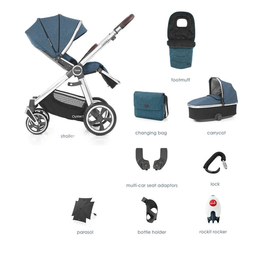 BabyStyle Oyster 3 Regatta 9-piece Bundle - Pushchair Expert