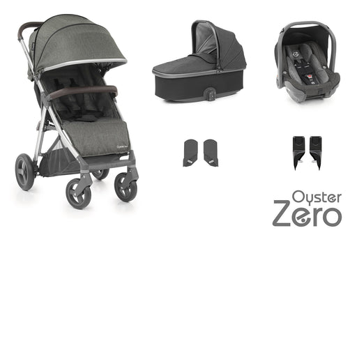 BabyStyle Oyster Zero travel system - Pepper - Pushchair Expert