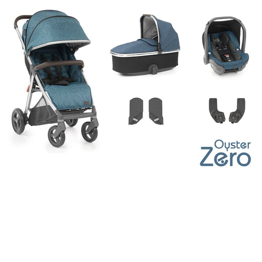 BabyStyle Oyster Zero travel system - Regatta - Pushchair Expert