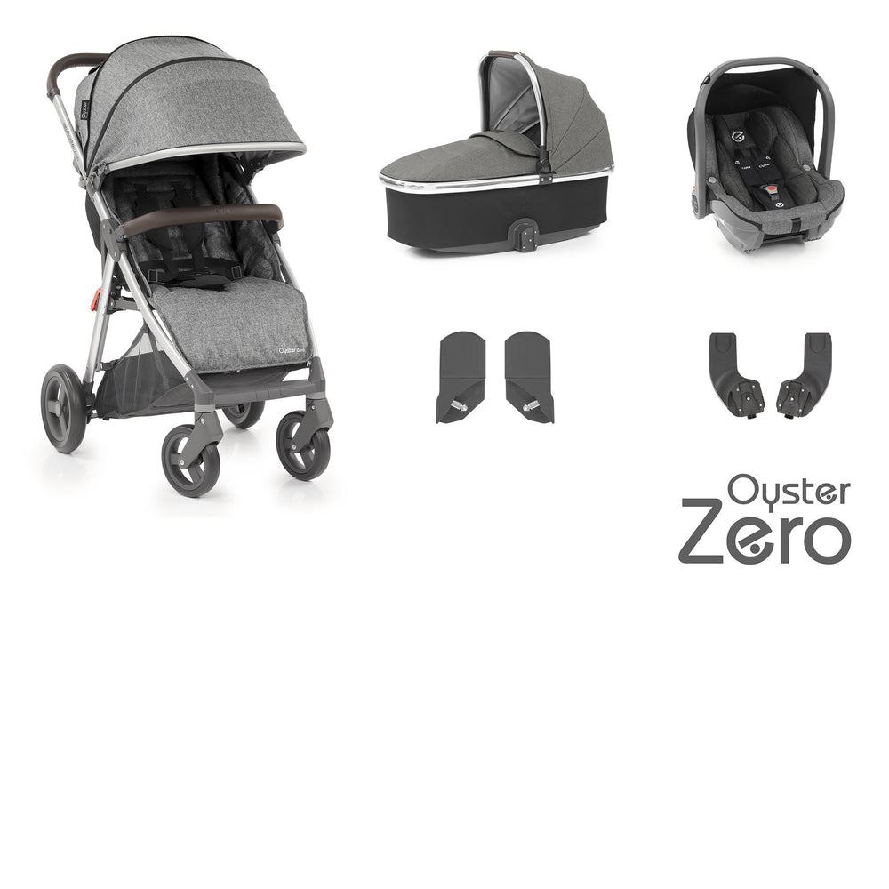 BabyStyle Oyster Zero travel system - Mercury - Pushchair Expert