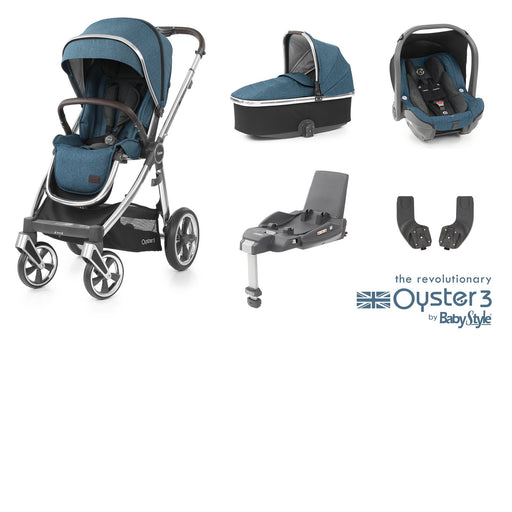 BabyStyle Oyster 3 Essential Bundle - Regatta - Pushchair Expert