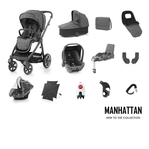 BabyStyle Oyster 3 Ultimate Bundle - Manhattan - Pushchair Expert