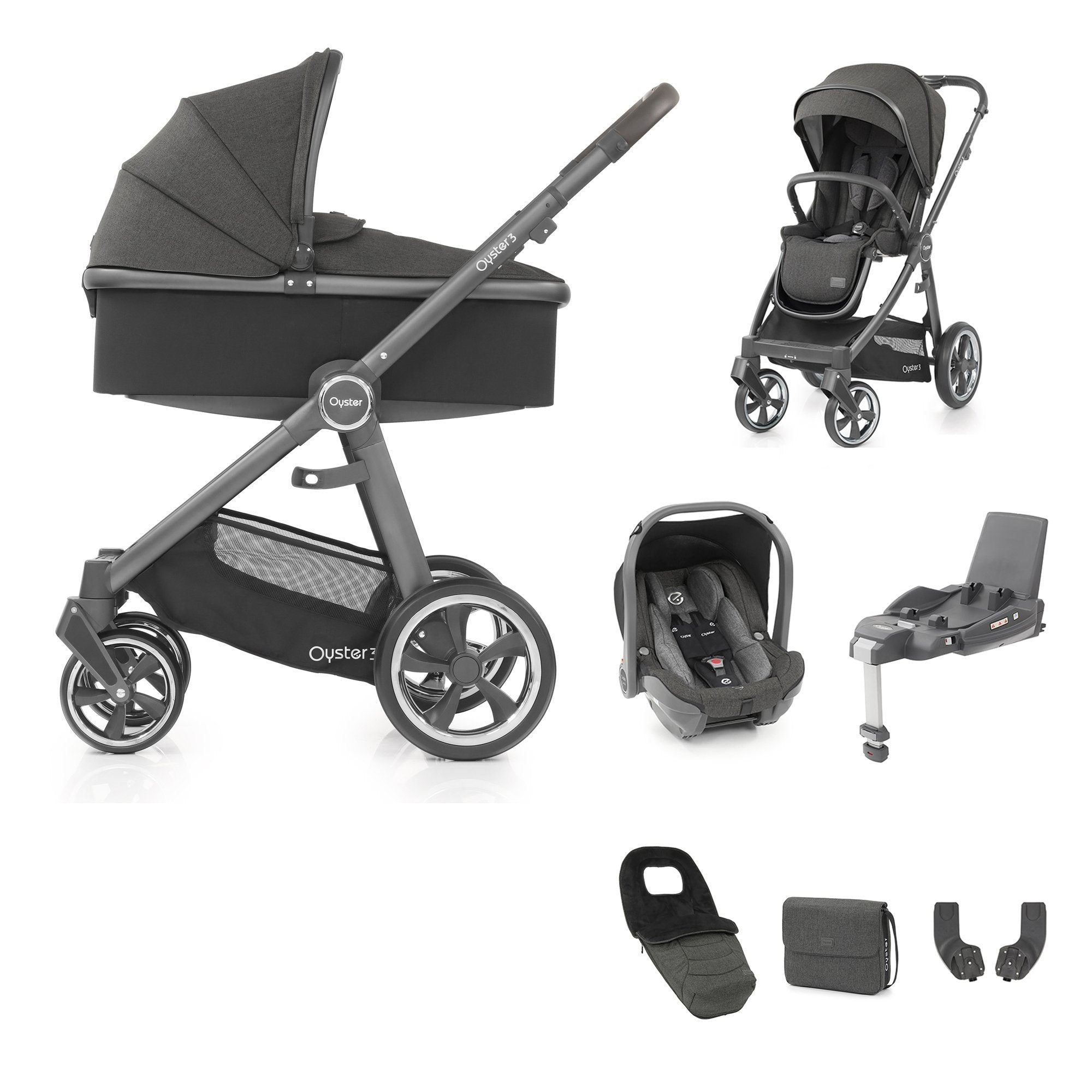 BabyStyle Oyster 3 Luxury Bundle - Pepper