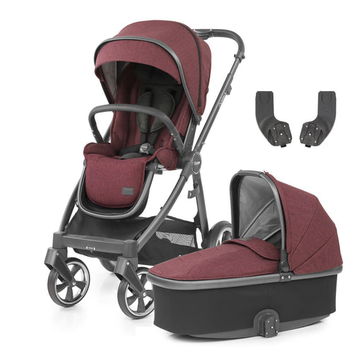 BabyStyle Oyster 3 Berry 3-piece Bundle - Pushchair Expert