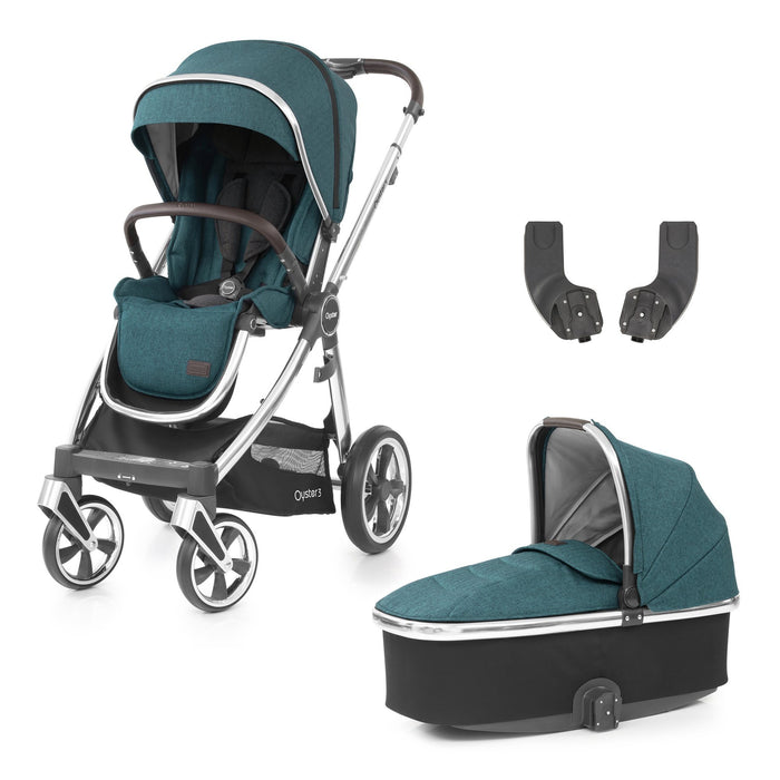 BabyStyle Oyster 3 Peacock 3-piece Bundle - Pushchair Expert