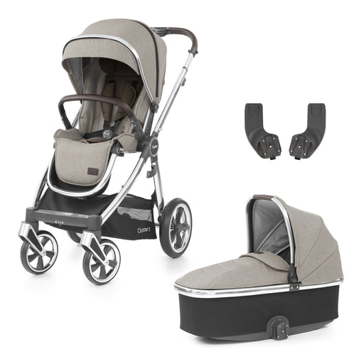 BabyStyle Oyster 3 Pebble 3-piece Bundle - Pushchair Expert