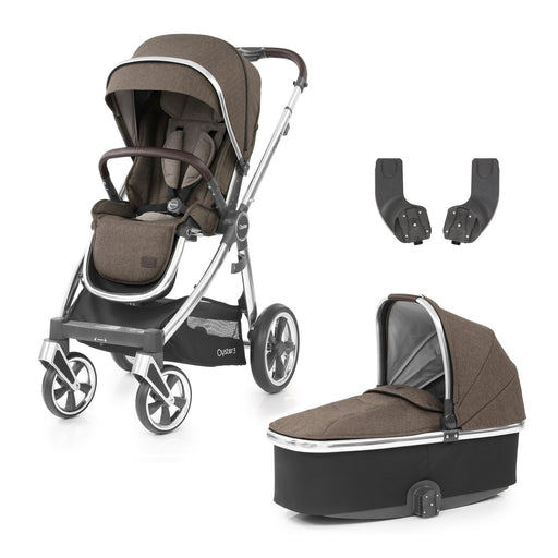 BabyStyle Oyster 3 Truffle 3-piece Bundle - Pushchair Expert