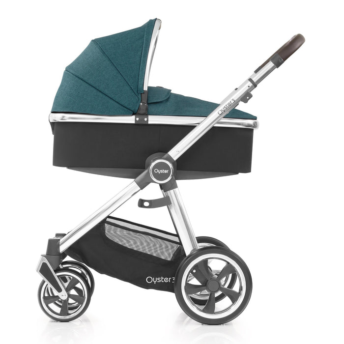 BabyStyle Oyster 3 Peacock Essential Bundle with Maxi-Cosi Cabriofix