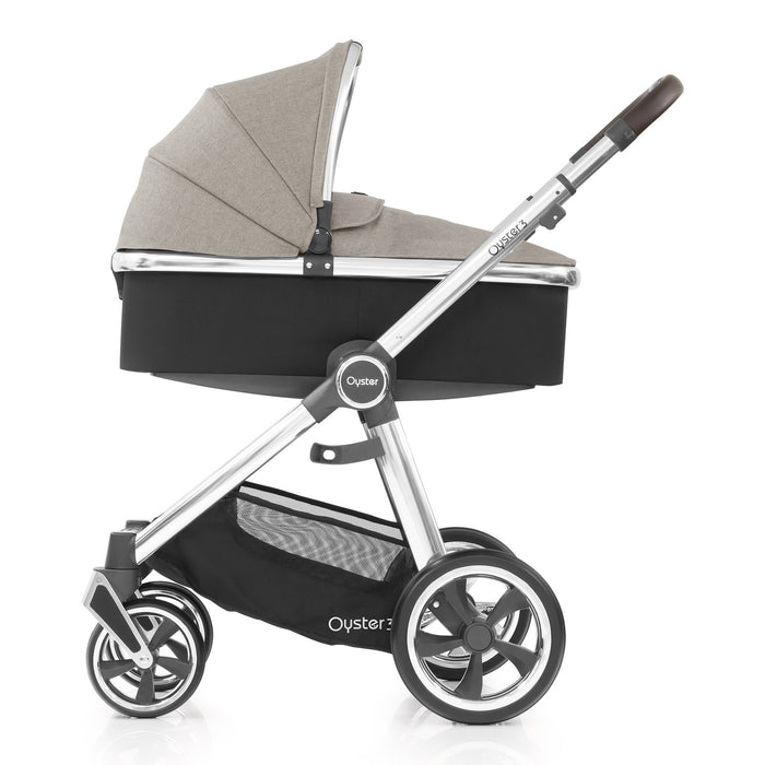 BabyStyle Oyster 3 Pebble Luxury Bundle with Maxi-Cosi Cabriofix - Pushchair Expert