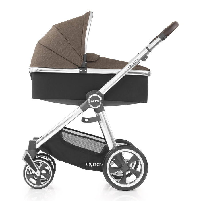 BabyStyle Oyster 3 Truffle Luxury Bundle with Maxi-Cosi Cabriofix