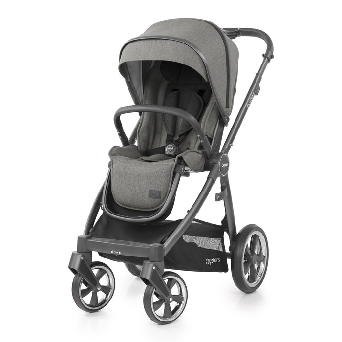 BabyStyle Oyster 3 Mercury (City Grey Chassis) 9-piece
