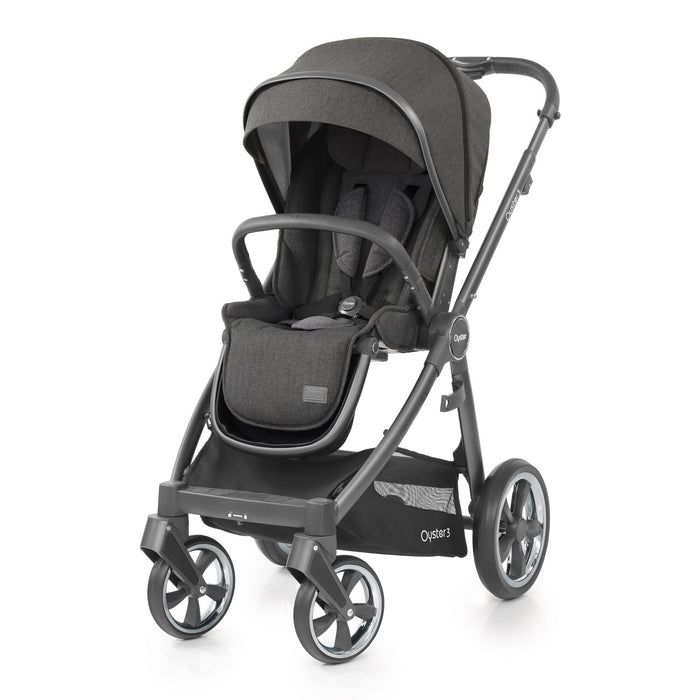 BabyStyle Oyster 3 Pepper Essential Bundle with Maxi-Cosi Cabriofix - Pushchair Expert