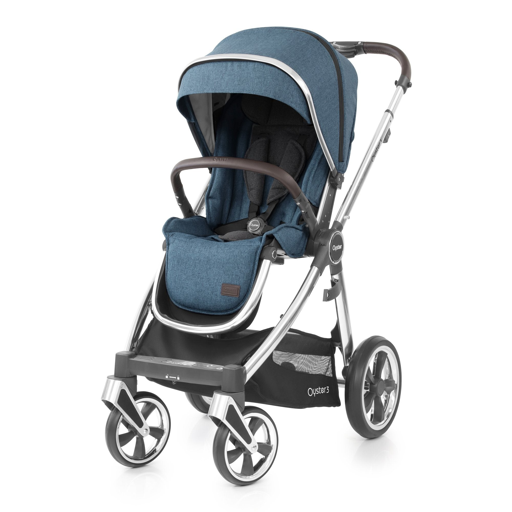 BabyStyle Oyster 3 Regatta Luxury Bundle with Maxi-Cosi Cabriofix - Pushchair Expert