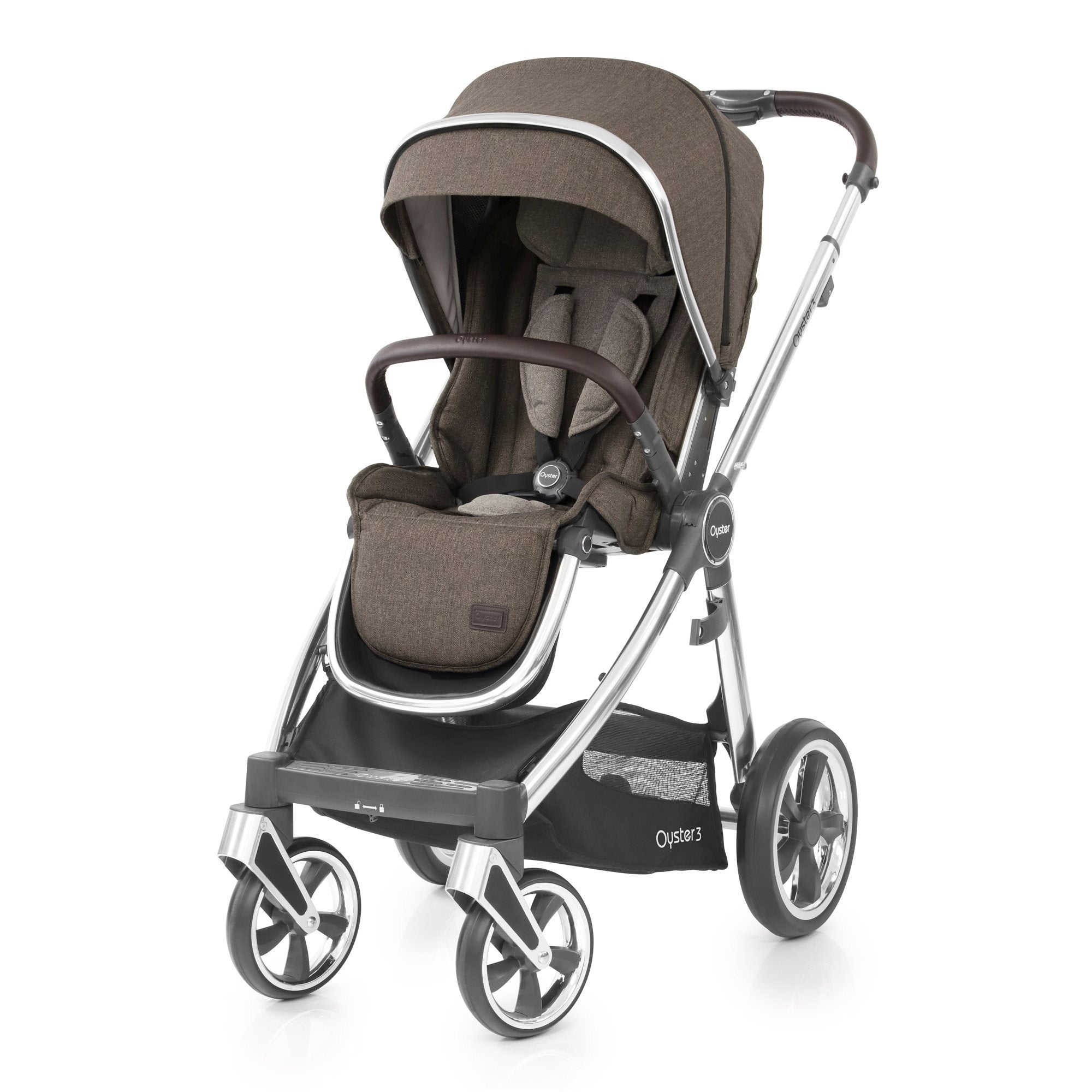 BabyStyle Oyster 3 Truffle Essential Bundle with Maxi-Cosi Cabriofix - Pushchair Expert