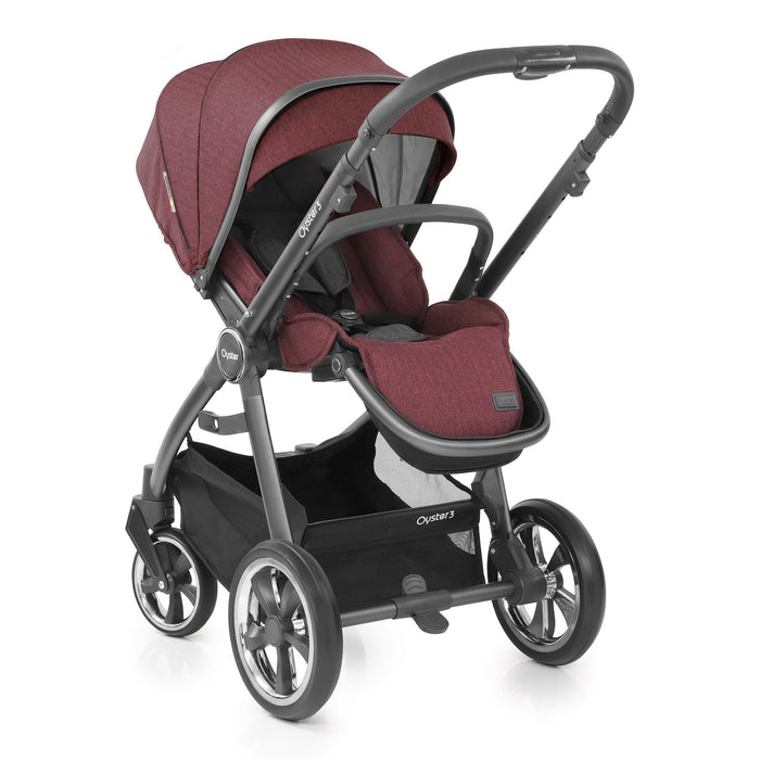 BabyStyle Oyster 3 Luxury Bundle - Berry - Pushchair Expert