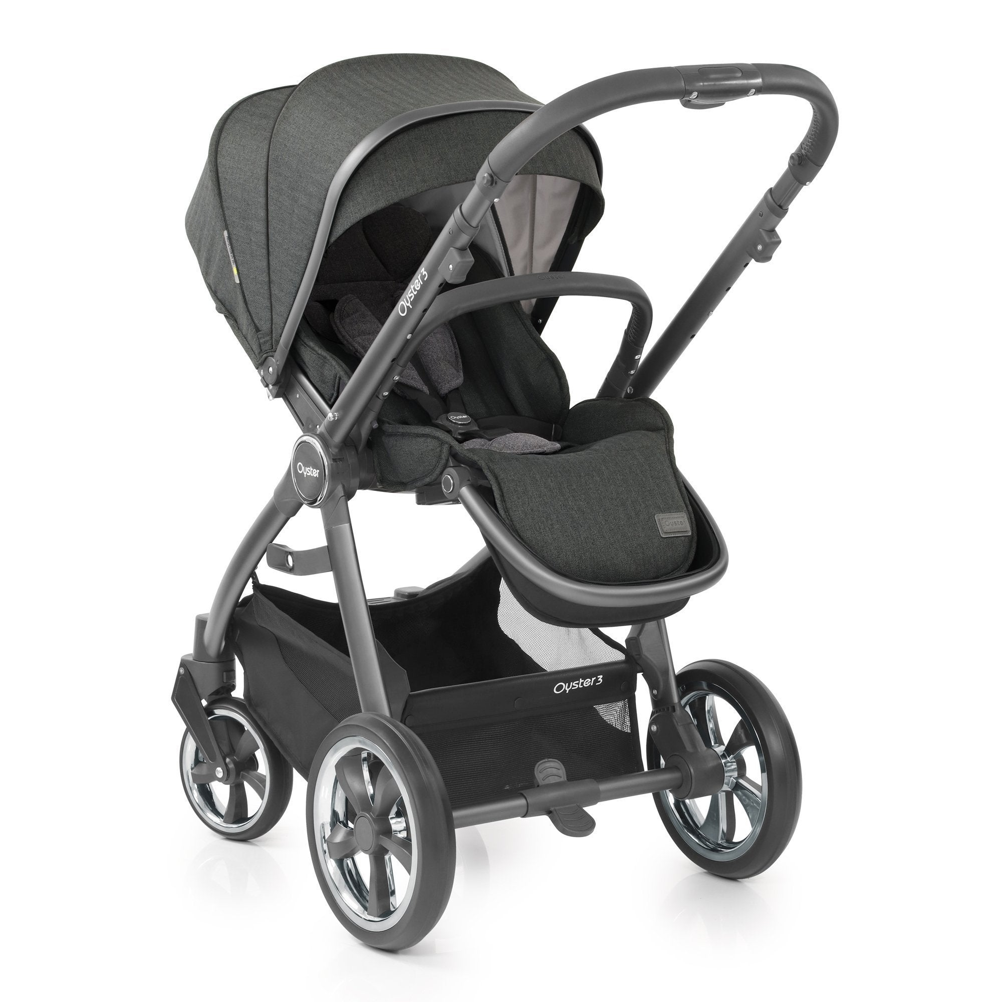 BabyStyle Oyster 3 Essential Bundle - Pepper - Pushchair Expert