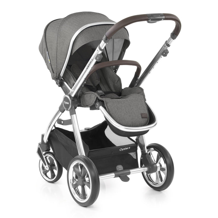 BabyStyle Oyster 3 Mercury (Mirror Chassis) - Pushchair Expert