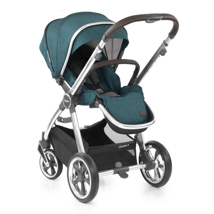 BabyStyle Oyster 3 Peacock 9-piece Bundle - Pushchair Expert