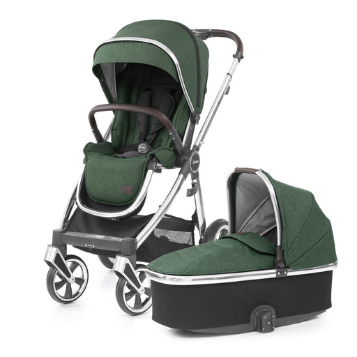 BabyStyle Oyster 3 Alpine Green with Carrycot