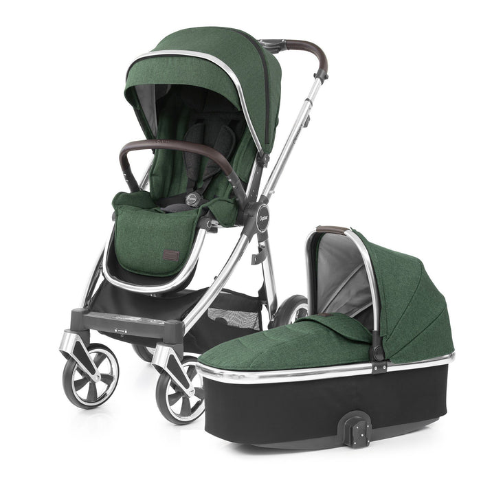 BabyStyle Oyster 3 Alpine Green Ultimate Bundle with Maxi-Cosi Cabriofix